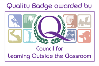 Quality badge learning outside classroom